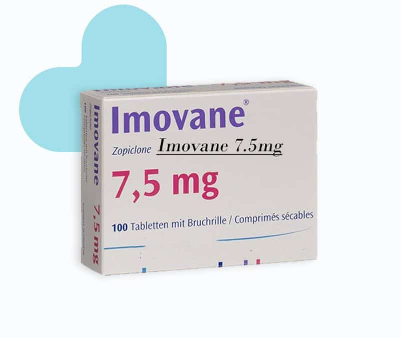 buy Imovane zopiclone generic 7.5mg 14 tablets