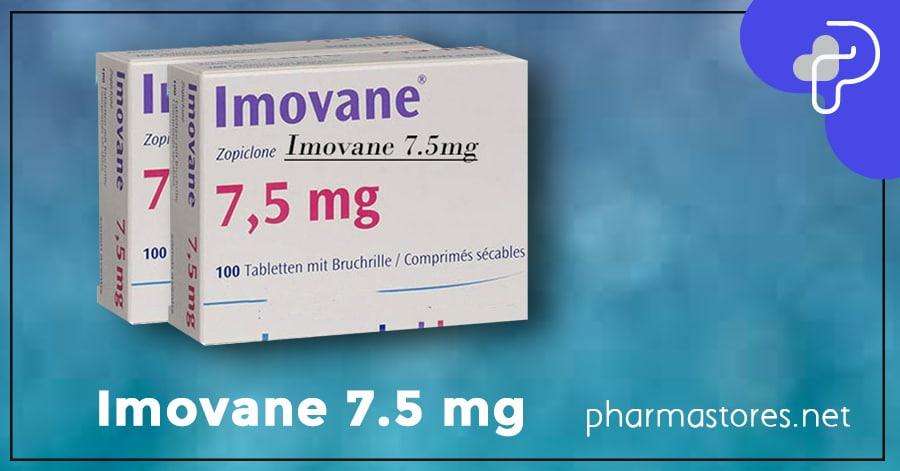 Imovane 7.5 mg
